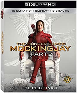 The Hunger Games: Mockingjay Part 2 [4K UHD + Blu-ray]