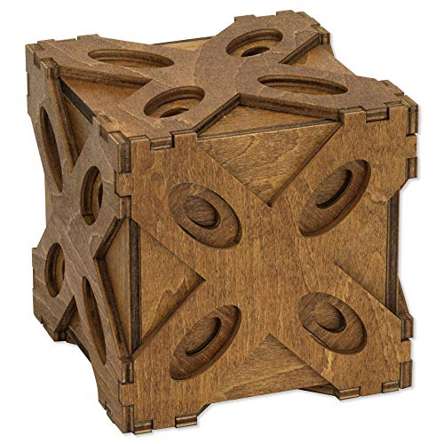 Bits and Pieces - Butterfly Moving Puzzle Box - Wooden Trick Gift Box for Adults