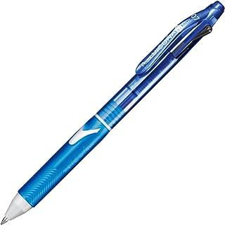 ぺんてる 2色ボールペン ビクーニャ0.7mm XBXC27S スカイブルー 5本