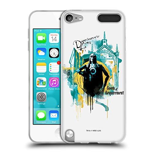 Head Case Designs Licenciado Oficialmente Harry Potter Habitación De Requisito Reliquias de la Muerte XXIV Carcasa de Gel de Silicona Compatible con Apple iPod Touch 5G 5th Gen