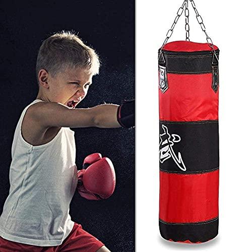 Biitfuu Boxsack Schwerer Boxsack Kickboxsäcke Kick Boxsack mit Handschuhen für Erwachsene & Kinder (#1)