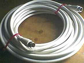 Radio Shack RG-6 Coaxial Cable, 21 Feet, White, RadioShack RG-6 GXG LL77501 Quad-Shield 18 AWG (UL) 75 °C Type CATV E135174A Dual RG6 Quad Shield RG6 Coaxial Cable