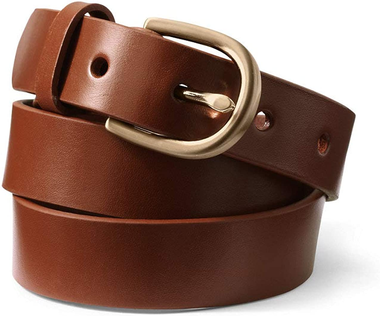 security Store Lands' End Women's Belt Classic Leather