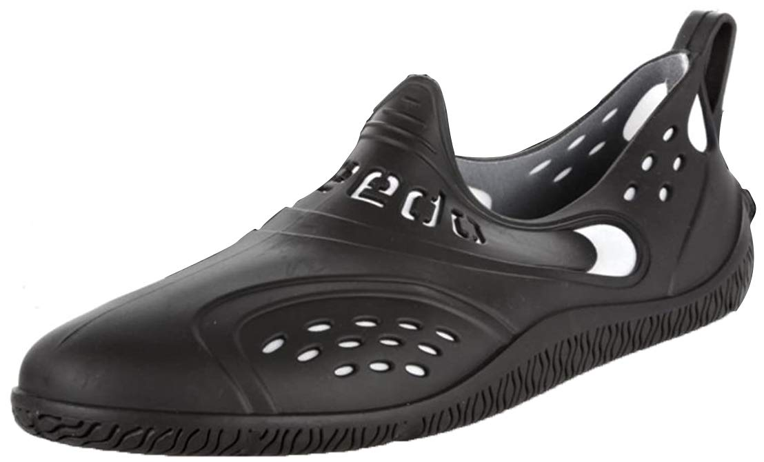 Speedo ZANPA AM 8056710299, Herren Sandalen, Schwarz (schwarz/weiß), EU 44.5