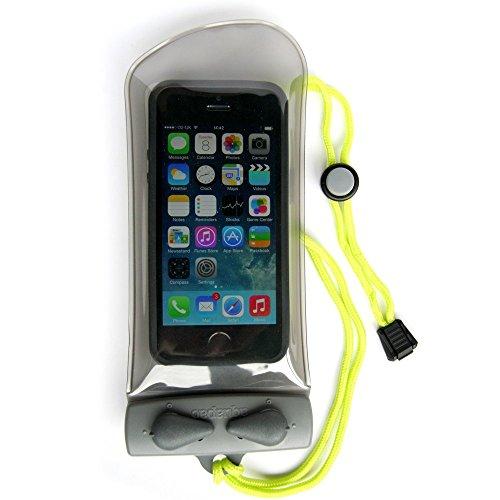 Aquapac 108 Custodia a tenuta stagna per apparecchi elettronici, trasparente grigia, formato mini