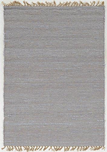 Linon Home Décor Teppich, Wolle, Fliederfarben