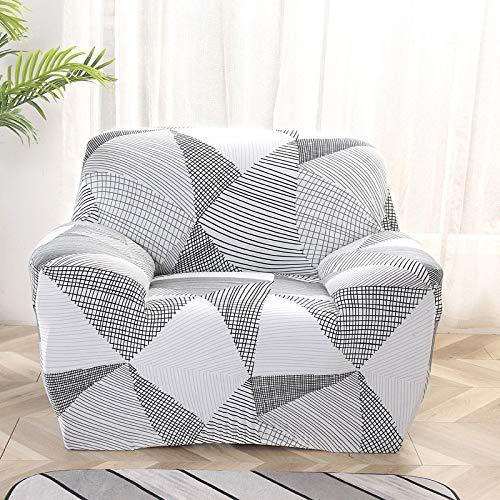 WXQY Fundas elásticas Funda de sofá elástica con protección para Mascotas Funda de sofá con Esquina en Forma de L Funda de sofá con Todo Incluido A18 3 plazas