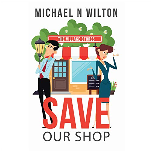 Save Our Shop audiobook cover art