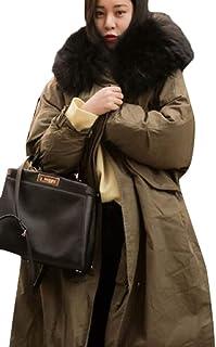 maweisong 女性の冬のアウトワイア暖かいparkasスリムフィットパーカーマキシコートは厚くなります