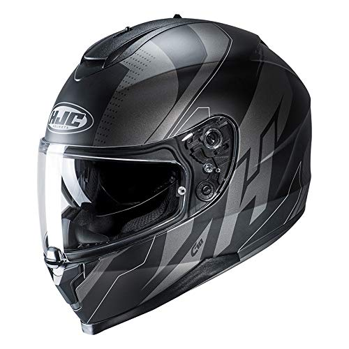 HJC Unisex's NC Motorcycle Helmet, Black, M