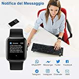 Zoom IMG-1 yamay smartwatch uomo orologio fitness