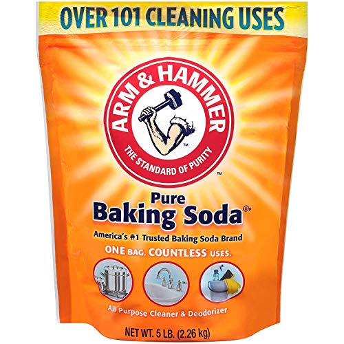 Arm & Hammer GCDCKJ Baking Soda, 5 Lbs, 2 Pack