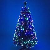 Christmas Concepts® 6ft Artificial Fibra Óptica Verde...