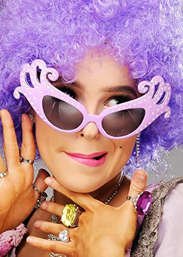 Magic Box Occhiali Fantasia Lilla Dame Edna Style