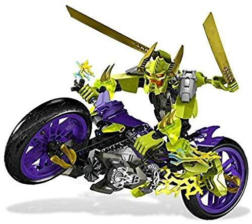 Bionicle Hero Factory Super Hero Compatible lepined 6231 6230 Stormer XL Speeda Demon Building Blocks Figuras Ladrillos Juguetes de Navidad - Sin Caja Original