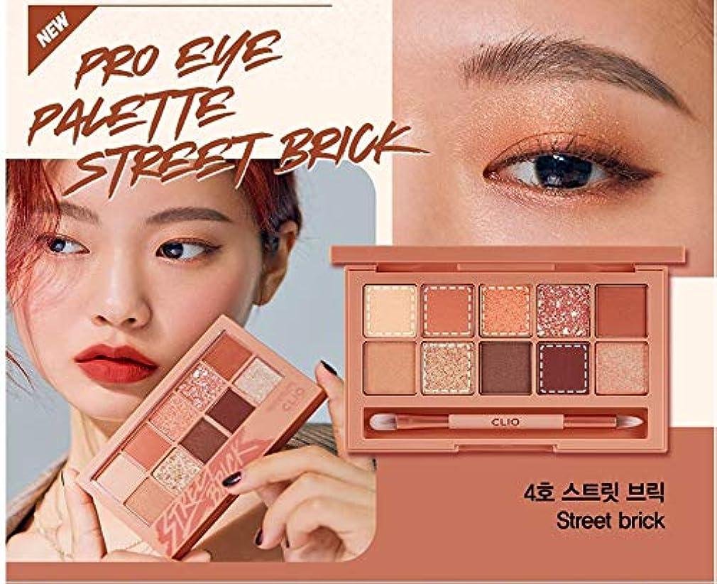 業界織るドラマクリオ[CLIO] Pro Layering Eye Palette N04 ストリートブリック(0.6gx10色) / Pro Layering Eye Palette N04 Street Brick