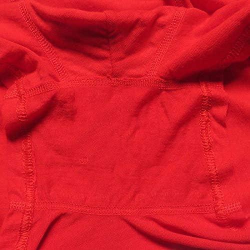 JIUMENG 6Pcs Men's Boxer Briefs Underwear Men's Red Comfortable Cotton Underwear