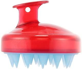 SILISCRUB-The Original Silicone Shampoo BrushHair Scalp Massager Shampoo Brush (RED)