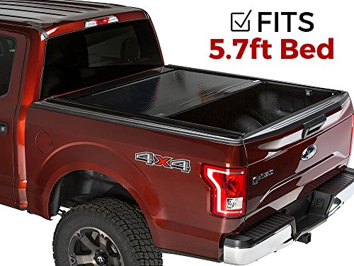 Gatortrax Electric Retractable (fits) 2009-2018 Dodge Ram 5.7 w/RamBox Foot Bed Only Power Gloss Truck Bed Tonneau Cover (G20234) Made in The USA