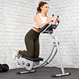 XtremepowerUS Deluxe Abdominal Crunch Coaster Fitness Equipment Body Exercise Workout Max Core Work...