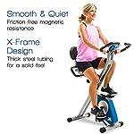 Fitness Equipment Shopping XTERRA Fitness FB350 Folding Exercise Bike, Silver