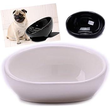 iikuru 犬 食器 陶器 犬用 食事 皿 いぬ フレンチブルドッグ パグ フード ボウル ペット 餌入れ ペット用 水入れ x674