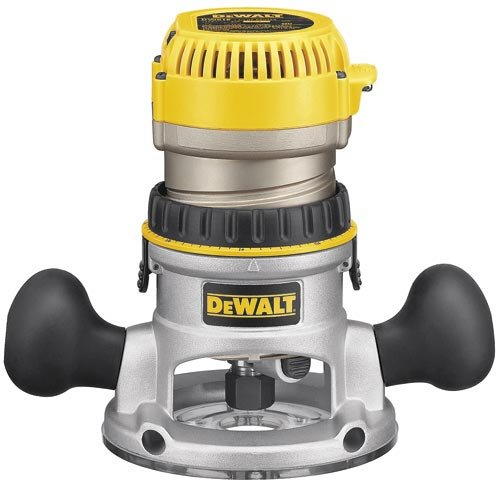 DEWALT Router, Variable Speed, Fixed Base, 2-1/4...