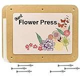 Giant 29cm x 36cm Rectangular Wooden Flower Press