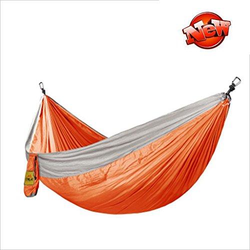 Hamacs Beach Camping Hammock Jardin Enfants Swing Jardin et Patio (Color : Orange, Size : 230 * 140cm)