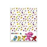 ALMACENESADAN 0548, Mantel de plástico Pocoyo y Nina para Fiestas y cumpleaños, Dimensiones 120x180c...