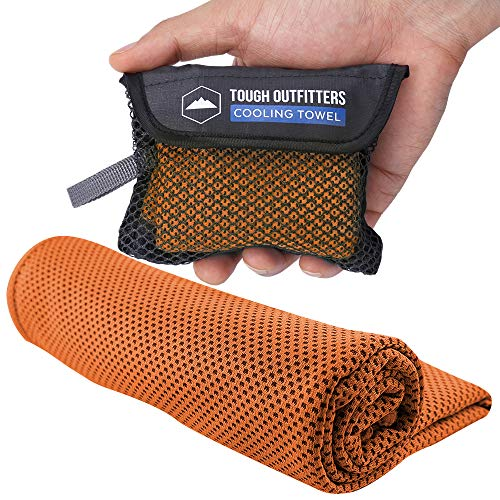 Cooling Towel - Keep Cool Neck Cooler Wrap - Sweat Rag/Outdoor Sports...