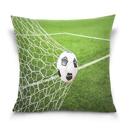 HMZXZ Funda de almohada decorativa de 40,6 x 40,6 cm, para sofá, dormitorio, sala de estar