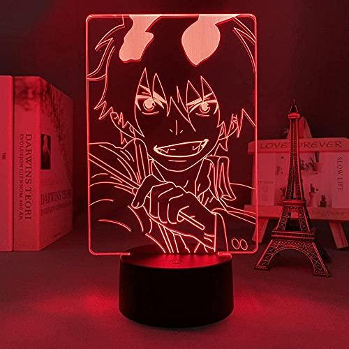 Luz nocturna 3D de Lava Anime lámpara Anime Figura Anime RE Zero Vida en otro mundo LED Luz nocturna para decoración de habitaciones, regalo RE Zero Emilia lámpara de noche DGNYJ