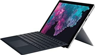 "2019 Microsoft Surface Pro 12.3"" Touchscreen Tablet PC Laptop Computer, Intel Core m3-7Y30 up to 2.6GHz, 4GB RAM, 128GB SSD, 802.11ac WiFi, Bluetooth 4.1, Black Keyboard, Windows 10 Home"