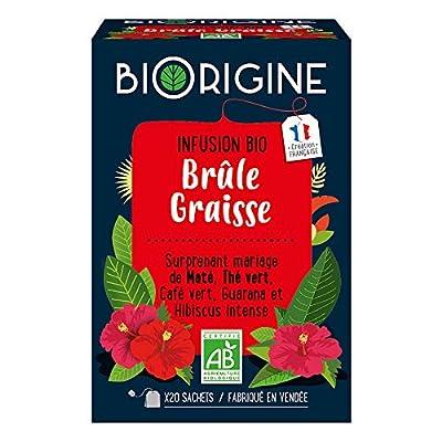 BiOrigine - Thé vert & kola - Ingrédients d'origine naturelle - Fabriqué en France
