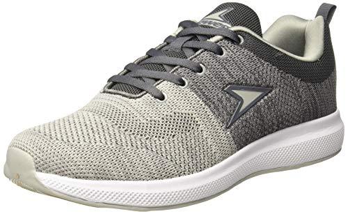 Power Men's Fallout Grey Running Shoes - 8 UK/India (42EU)(8392519)