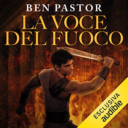 La Voce del fuoco audiobook cover art