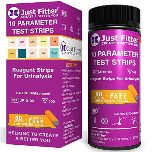 UTI Urine Test Strips. Urinary Tract Infection Strip. Simple, Fast and Accurate Results. Urinalysis Home Testing Stick Kit for Ketone, pH, Glucose, Nitrite, Leukocytes to Help Monitor Your Health.