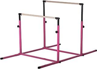 Nimble Sports Pink 3Play Double Horizontal Bars - Uneven Bars - Parallel Bars