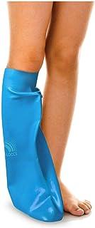 Bloccs Waterproof Cover for Plaster Cast Leg, Swim, Shower & Bathe. Watertight Protector, Child Medium