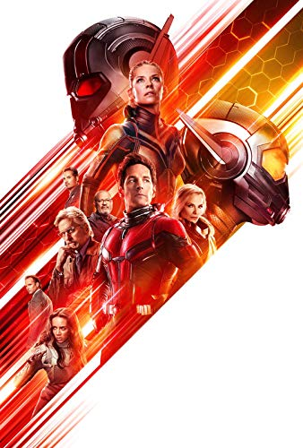 ANT Man and The WASP – US Textless Movie Wall Poster Print - A4 Size Plakat Größe