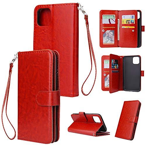 SJKJJ Handy-Fall für iPhone 6 6s 6 Plus 6s Plus 7 Plus 8 Plus 8 X XS 7/XS Max/XR 5/5s ultradünne Handy-Fall Multifunktionsmappen-Telefon-Fall,E,iPhoneXR