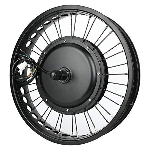 DAUERHAFT Kit Motore Bici elettrica 48V 1000W Motore mozzo Kit conversione Motore Bici elettrica ad Alta Potenza, con misuratore LCD(Precursor)