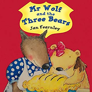 Mr Wolf and the Three Bears cover art