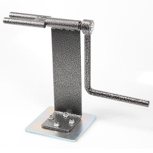 AutoScheich® Ratsche Spanngurtaufwickler Spanngurt Aufwickler Handkurbel Magnetsockel Magnet Anhänger Trailer LKW