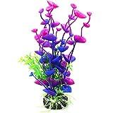 U/K PULABO - Decoración de acuario artificial para simular el mar, flores, plantas, paisaje, decoración de acuario, resistente y práctica