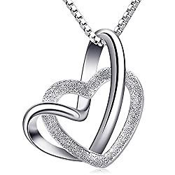 Material: 925 Sterling Silver, 5A Cubic Zirconia,Box Chain. Size: 16.5mm*15mm. The Sterling Silver Material itself is Relatively Soft, and it Needs to be Handled Gently to Avoid Scratching. When you Wear it, If it is Oxidized, Blackened or Darkened, ...