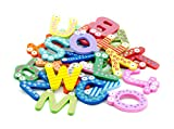 Lyanther Funky Fun Colorful Magnetic Letters A-Z Imanes de Nevera de Madera Kid Toys Educación