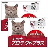 【動物用医薬品】【2箱セット】ベッツワン キャットプロテクトプラス 猫用 6本