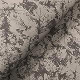 Glünz Softshell Marmor grau - Stoff - Meterware - 0,5m x